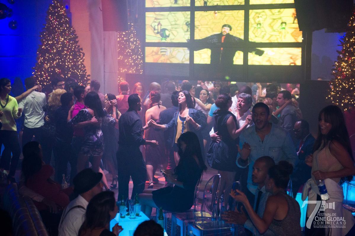 Fiesta de Clausura del Festival de Cine Global Dominicano. Discoteca Jet Set.-13
